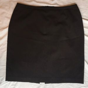 NY & Co Chocolate Brown CityStretch Skirt